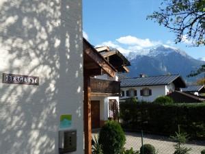 Bergblick von der Ferienwohnung Berchtesgaden Berglust