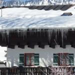 Bauernhof Eiszapfen